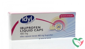 Idyl Ibuprofen 400 mg liquid caps