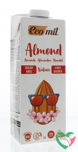 Ecomil Amandeldrank naturel suiker vrij