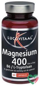Lucovitaal Magnesium 400 met B6 en L-tryptofaan