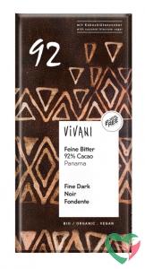 Vivani Chocolade puur delicaat 92% Panama