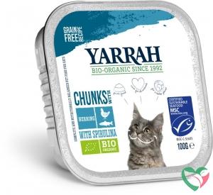 Yarrah Kat alucup chunks met vis bio