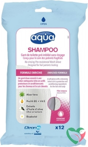 Aqua Washandjes shampoo