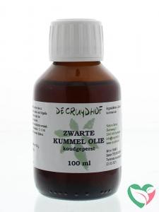 Cruydhof Zwarte kummel olie koudgeperst