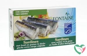Fontaine Sardines met huid en graat