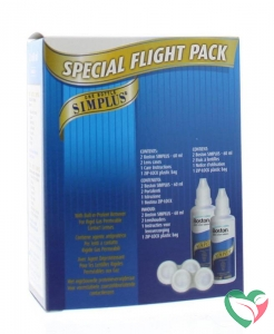 Bausch & Lomb Boston simplus flight pack