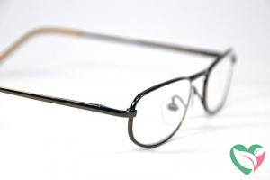 IBD Leesbril universeel bruin +1.00