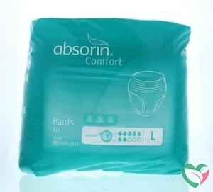 Absorin Comfort pants fit large tot 145 cm