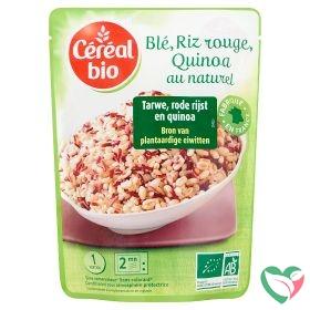 Cereal Bio Tarwe, rode rijst en quinoa bio