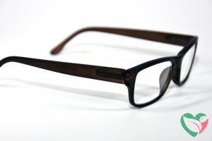IBD Leesbril bruin mat +3.00