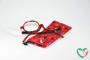 IBD Make up bril rood +4.00