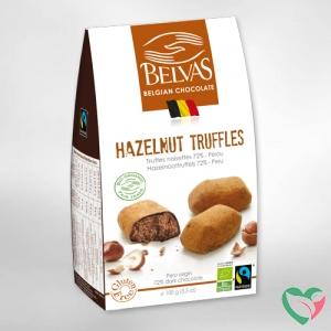 Belvas Praline hazelnoot truffels bio