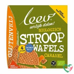 Leev Stroopwafels caramel glutenvrij bio