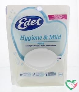 Edet Vochtig toiletpapier hygiene & mild pure