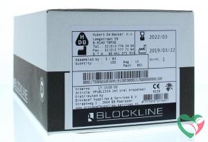 Blockline Spuit helder 1 ml zonder tip cap