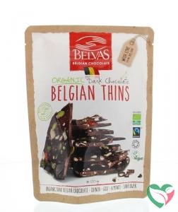 Belvas Thins puur goji amandel bio