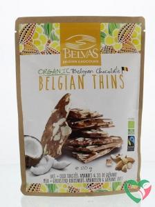 Belvas Thins melk kokos amandel bio