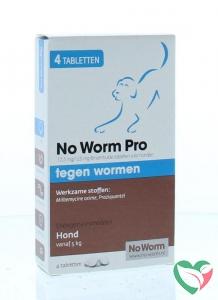 Exil No worm pro hond L