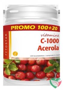 Fytostar Acerola vitamine C 1000