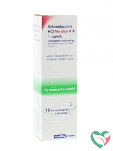 Healthypharm Neusspray xylometazol menthol