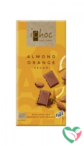 Ichoc Almond orange vegan bio