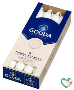 Gouda Kroonkaars wit 240/24
