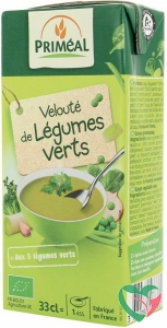 Primeal Veloute soep groene groenten