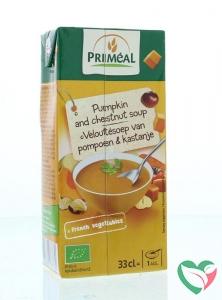 Primeal Veloute soep pompoen kastanje