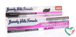 Beverly Hills Perfect white black sensitive tandpasta