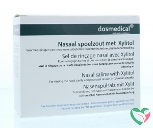 Dos Medical Nasaal spoelzout 6.5 g xylitol