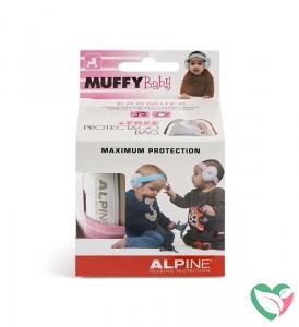 Alpine Muffy baby pink oorkappen
