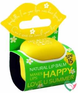 Beauty Made Easy Lipbalm love u sunny SPF15