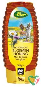 Traay Bloemenhoning vloeibaar knijpfles bio