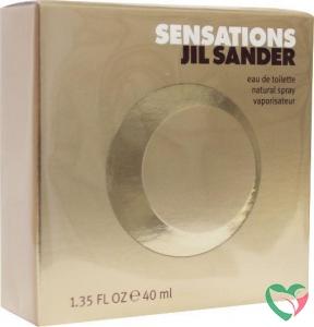 Jil Sander Sensations eau de toilette vapo female