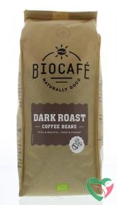 Biocafe Koffiebonen dark roast bio