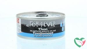 Fish 4 Ever Tonijnmoot in water