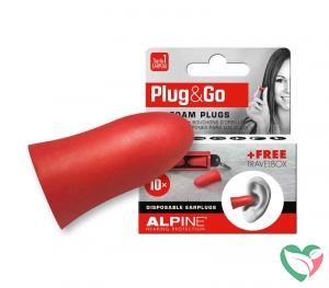 Alpine Plug & go rood