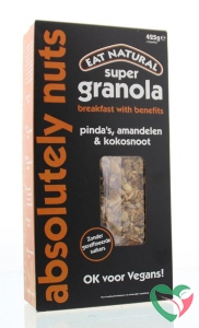 Eat Natural Super granola absolutely nuts