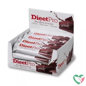 Dieet Pro Snack choco brownie 50 gram