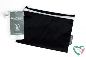 Imsevimse Wet bag reiszakje zwart wasbaar