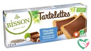Bisson Tartelette chocolade hazelnoot