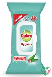Dubro Doekjes hygiene eucalyptus
