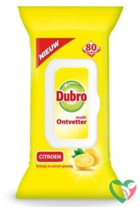 Dubro Doekjes multi ontvetter citroen