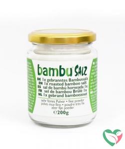 Bambu Salz Bamboezout zeer fijn 1x gebrand