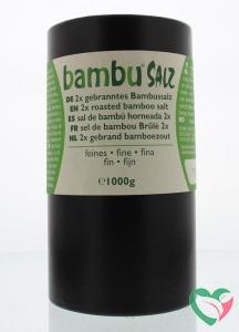 Bambu Salz Bamboezout fijn 2x gebrand