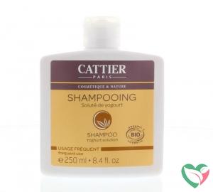 Cattier Shampoo dagelijks yoghurt