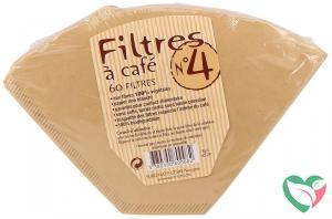 Euro Nat Koffiefilters no 4