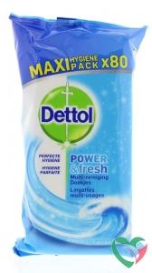 Dettol Power & fresh wipes ocean