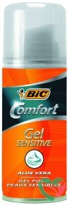 BIC Scheergel comfort sensitive