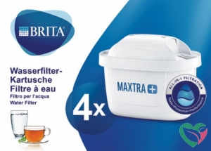 Brita Waterfilterpatroon maxtra+ 4-pack