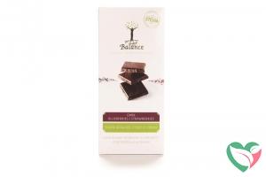 Balance Choco stevia tablet puur bosbes
